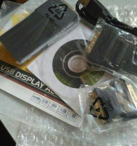 USB 2.0 to vga/hdmi/dvi