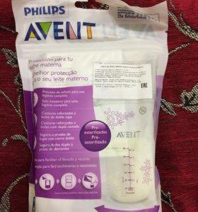 Пакеты для сбора и хранения грудного молока