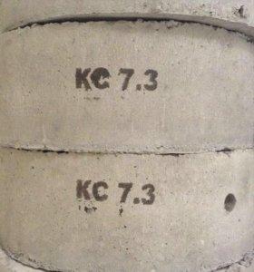 ЖБИ кольца бетонные 7-3