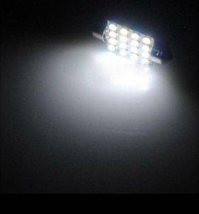 Лампочки светодиодные для подсветки номера и.тд