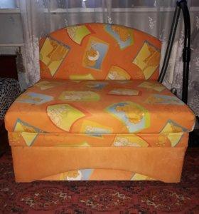Детский дива кровать Антошка