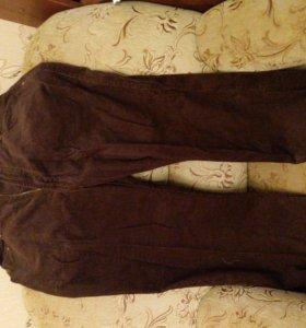 новые брюки вельветовые.