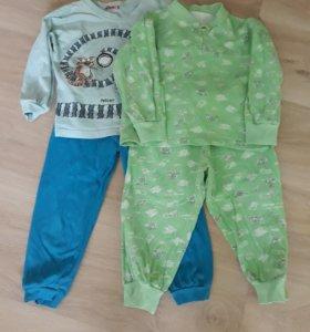 ОТДАМ пижамки 2-3 годика