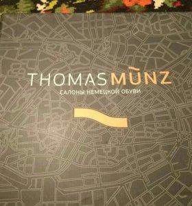 Ботинки мужские зимние Thomas Munz