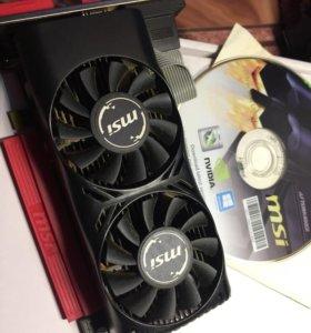 NVIDIA msi 750 (ti) 2GB