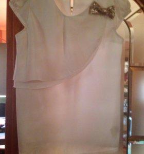 Блузка белая нарядная Италия Primigi