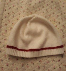 Детская осенняя шапка на 4-5лет