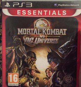 Игра на PS3 Мортал комбат