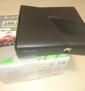 Xbox 360 slim freeboot 250гб