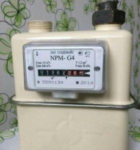 Счетчик газовый объемный диафрагменный NPM G4