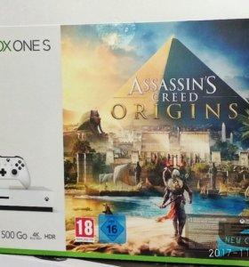 Xbox One S 500GB + Assassin's Creed Origins