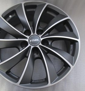 Новые Rial Lugano r17 диски BMW