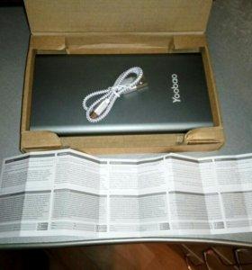 Новый повербанк 20.000 Ма/ч резервный аккумулятор