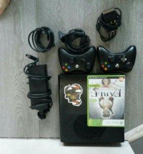 Xbox 360 + игра Fable anniversary