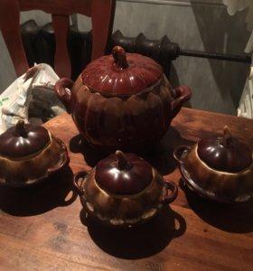 Керамические горшки для духовки