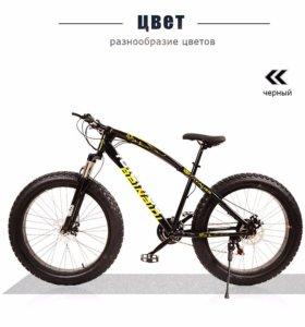 Новые Велосипеды Фэтбайки 2017