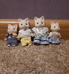 Семейка котиков
