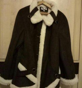 куртка дубленая