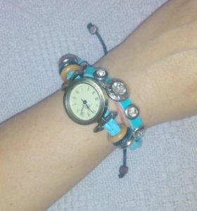 "Часы-браслет ""Винтаж"" +подарок"