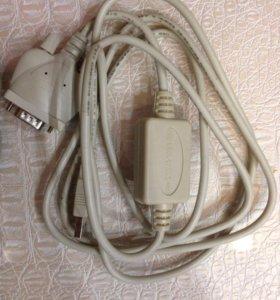 Кабель USB/Com для тахеометра с переходником