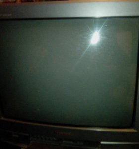 "Телевизор Panasonic диагональ 21"" ЭЛТ TX-21GF80T 1"