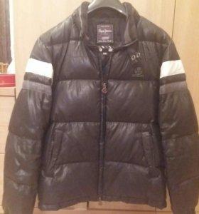 Куртка зимняя мужская пуховик Peppe Jeans.