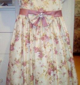 Праздничное платье для девочки от 7 лет