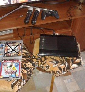 Игровая приставка Sony ps 3 super slim 500 gb