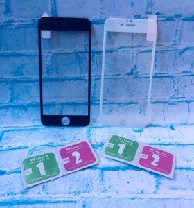 Защитное стекло 3D iPhone 6, 6s