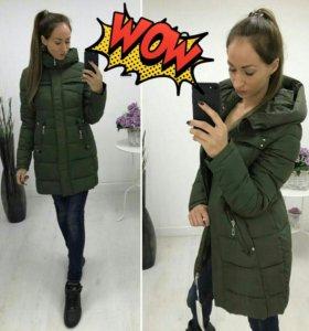 Новая теплая куртка на 48 размер