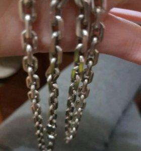 Серебрянная цепь 60 грамм