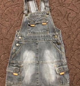 Сарафан джинсовый рост 104-110