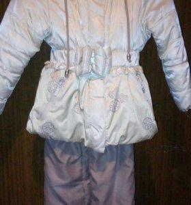 Куртка со штанами на девочку