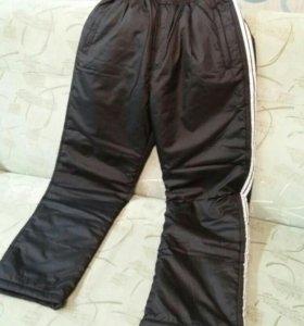 Спортивные штаны зима