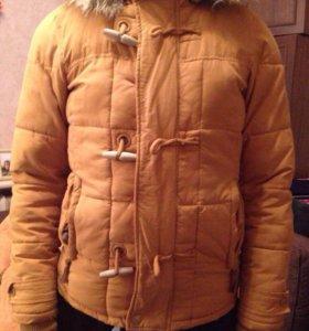Зимняя куртка Pull&bear размер S