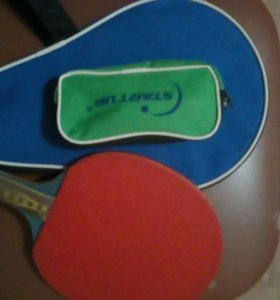 Теннисная ракетка + чехол + мячики