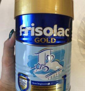 Смесь молочная сухая Frisolac gold 1,c рождения