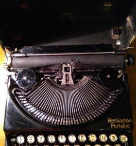 Печатающая машинка Remington Portable