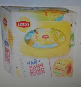 Подарочный набор чая Lipton