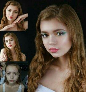 Модель для макияжа