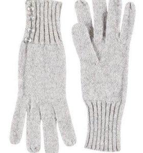 Новые женские серые перчатки