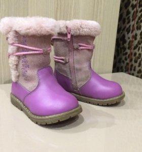 Зимние сапожки для девочки