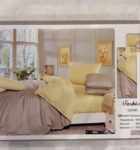 Комплект постельного белья Двуспальное (Сатин)