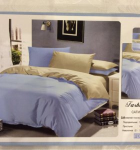 Двуспальный комплект постельного белья (Сатин)