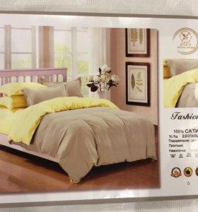 2 спальный комплект постельного белья (Сатин)