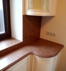 Искусственный камень столешницы кухонные потолки л