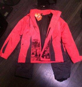 52 р-р Новый Костюм горнолыжный (куртка+штаны)