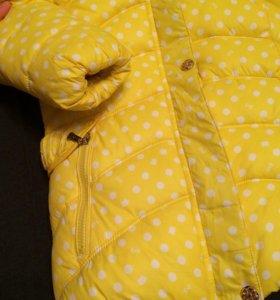 Куртка зимняя новая на 6-7 лет