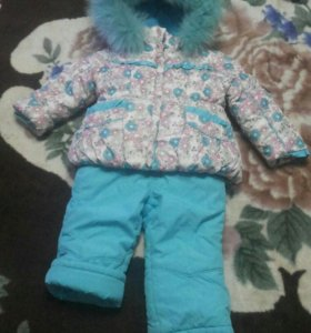 Детский зимний костюм.