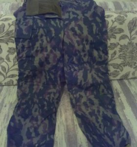 Штаны ватные,50 размер